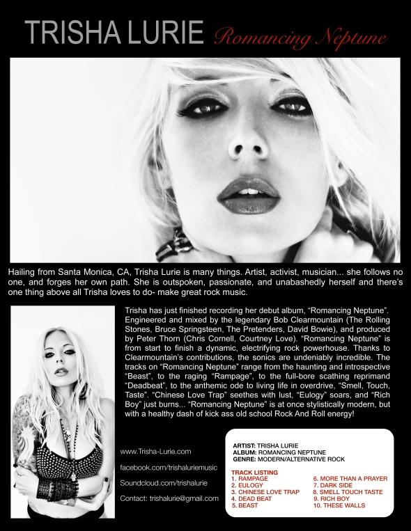 Trisha Lurie one-sheet